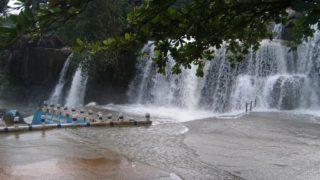 The Tripparappu cascades
